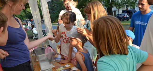 Netopýři na festivalu Babí léto v Bohnicích