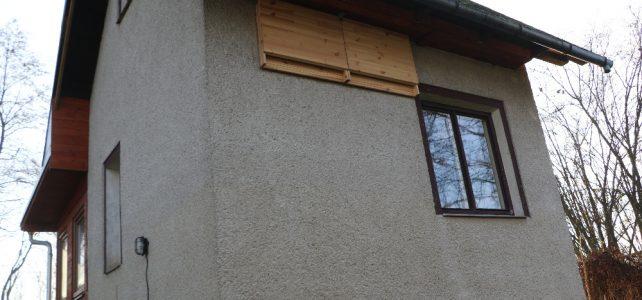 Budky pomáhají nahradit zaniklé úkryty netopýrů v budovách