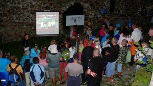 Mezinarodni noc pro netopyry na hrade