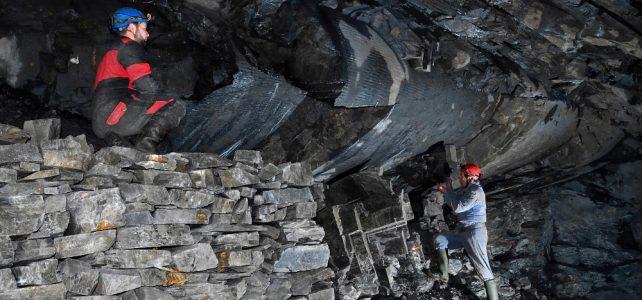 Flascharův důl – břidlice plná netopýrů
