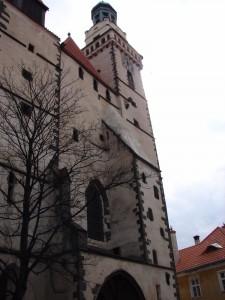 Boční věžička s úkrytem netopýrů