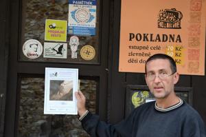 Plaketa hradu Točník