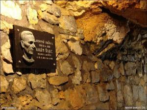 Objevitel jeskyní - revírník Vilém Švec