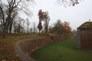 Bastion I - v této části areálu se nachází vstup do podzemních chodeb