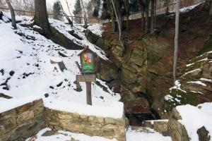 V zimě je jeskyně pro veřejnost uzavřena, aby měli zimující netopýři klid