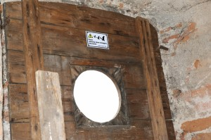 výletový otvor - Černá Voda, kostel