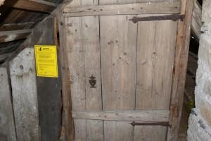 informační cedule - Hoštejn, kostel
