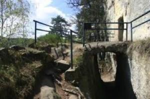 Kamenný mostek.
