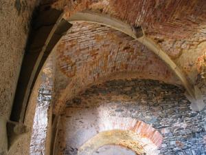 Na hradě se zachovaly unikátní klenby.
