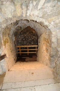 Podzemí hradu Rabí.