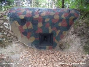 Nedaleko hradu se nachází muzeum čs. opevnění Klášter
