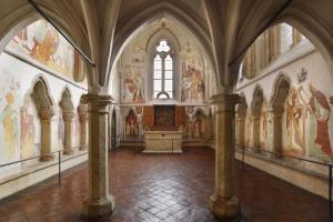 Nejcennější částí hradu je kaple svatého Václava.