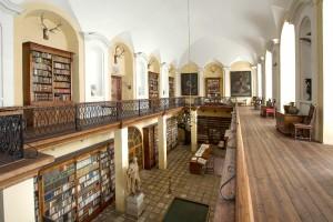 Knihovna knížecího rodu Windischgrätz.