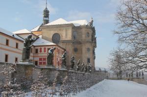Netopýři obývají hospital Kuks i v zimě.