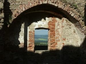 Trčkovský palác - okno.