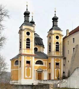 Kaple Nejsvětější Trojice.