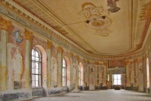 Banketní sál v severním křídle zámku