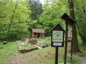 Zahrada na Šelmberku patří mezi ukázkové přírodní zahrady.