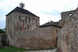 Hrad Točník - královský palác