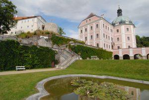 pohled na barokni zamek